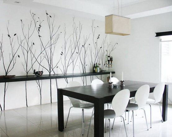 tranh tường phòng bếp
