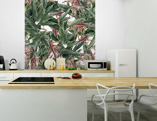 vẽ tranh tường phòng ăn theo yêu cầu