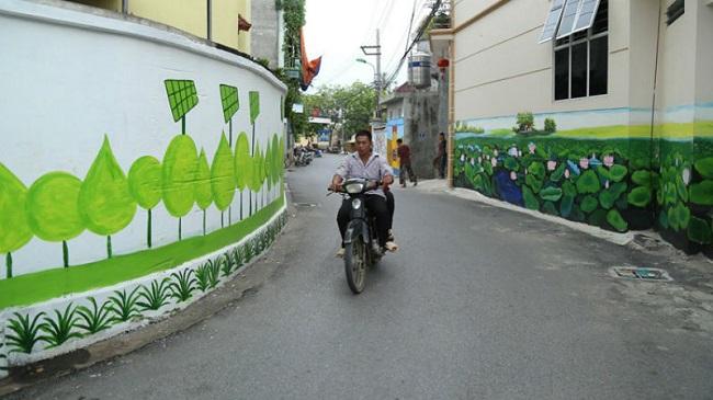 vẽ tranh tường đường phố