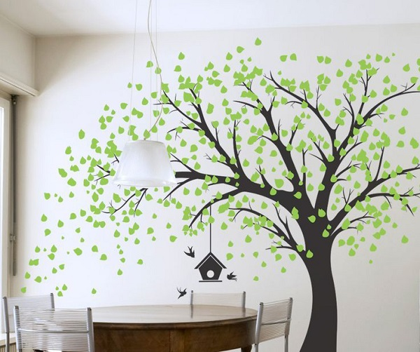 vẽ tranh tường cho phòng ăn tại tphcm