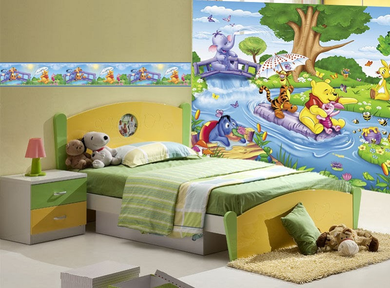 vẽ tranh tường phòng bé