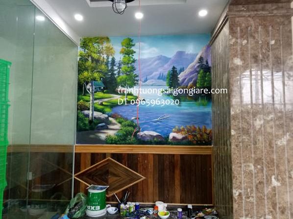 dịch vụ vẽ tranh phong cảnh